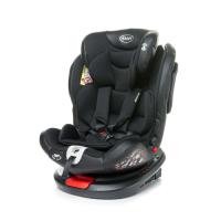 4Baby Roto-Fix Black Bērnu autokrēsliņš 0-36 kg