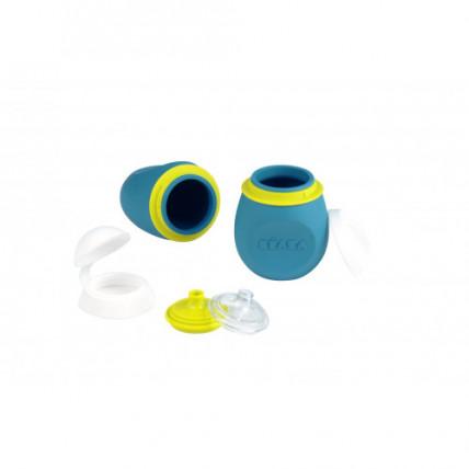 Beaba 912624 Silikona konteiners ūdenim, biezenim, sulām 180ml