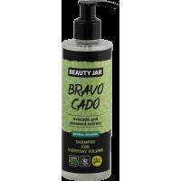 """Beauty Jar ''Bravocado"""" šampūns ikdienas matu apjomam 250ml"""