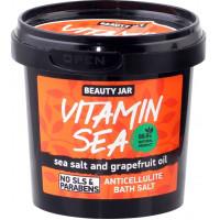 Beauty Jar VITAMIN SEA - anti-celulīta vannas sāls 200g