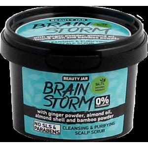 """Beauty Jar ''Brainstorm"""" attīrošs skrubis galvas ādai 100g"""