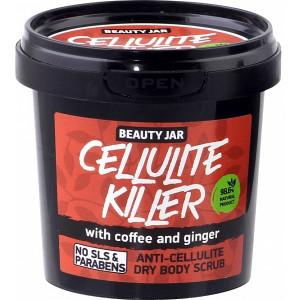 Beauty Jar CELLULITE KILLER - pretcelulīta ķermeņa sausais skrubis 150g