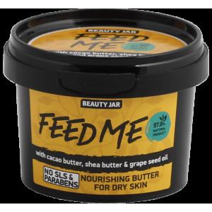 Beauty Jar FEED ME - Barojošs sviests sausai ādai, 90gr