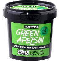 Beauty Jar GREEN APELSIN - modelējošais ķermeņa skrubis 200g