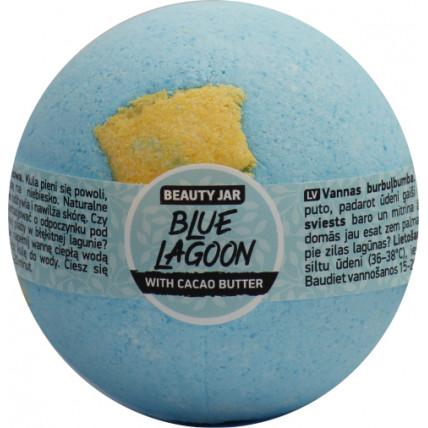 Beauty Jar BLUE LAGOON - vannas burbuļbumba ar kakao sviestu 150g