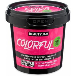 """Beauty Jar ''Colorful"""" intensīva maska krāsotiem matiem 150g"""