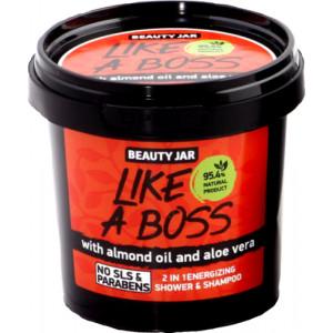 "Beauty Jar ''Like a boss"" gels-šampūns vīriešiem 2 in 1 150gr"