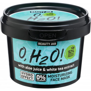 Beauty Jar O,H2O! - Mitrinoša sejas maska, 100g