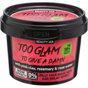 "Beauty Jar ''Too glam to give damn"" maska-želeja ar liftinga komplektu 100g"