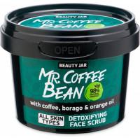 Beauty Jar Mr.Coffee Bean detox skrubis sejai ar kafiju 50g