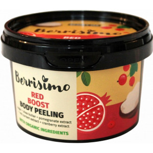 Beauty Jar Red boost ķermeņa skrubis 300g