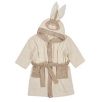 Bio Baby Organiskas kokvilnas bērnu halāts ar kapuci