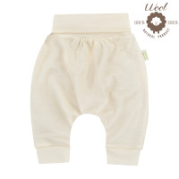 Bio Baby Merino vilnas bērnu bikses ar platu jostu