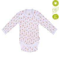 Bio Baby Organiskas kokvilnas bērnu bodijs ar garām piedurknēm