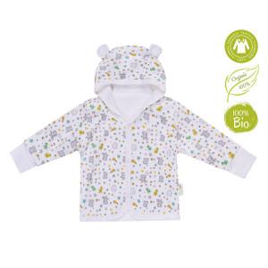 Bio Baby Organiskas kokvilnas bērnu krekliņš ar kapuci