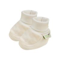 Bio Baby Organiskas kokvilnas velūra bērnu zābaciņi