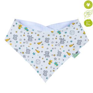 Bio Baby Organiskās kokvilnas priekšautiņš/lakatiņš