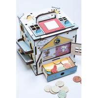 Boobo Toys Busy Cube Medium Aktivitātes kubs