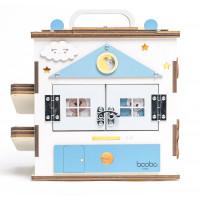 Boobo Toys Busy Cube Medium Aktivitātes kubs zēniem