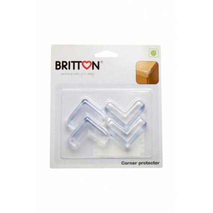 Britton B1810 Stūru caurspīdīgi aizsargi 4 gb.