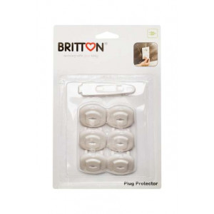 Britton B1811 Kontaktligzdu aizsargi 6 gab.