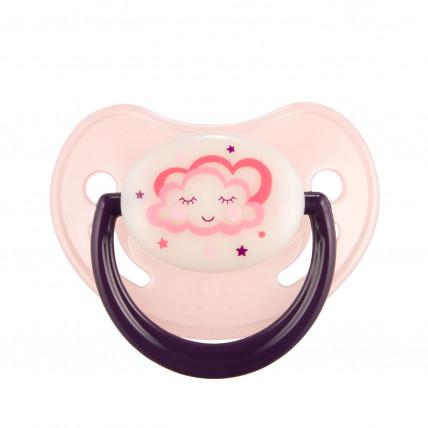 Canpol Babies Night dreams 22/502 Ortodontisks silikona knupītis 18m +