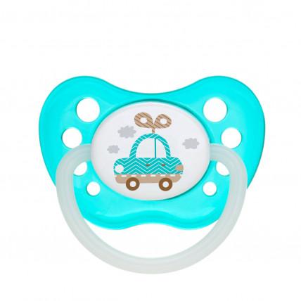 Canpol Babies Toys 23/261 Ortodontisks lateksa knupītis 18m +