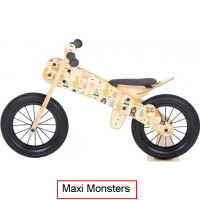 Dip Dap Maxi MONSTERS Koka skrejritenis no 3 līdz 6 gadiem