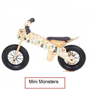 Dip Dap Mini MONSTERS Koka skrejritenis no 2 līdz 4 gadiem