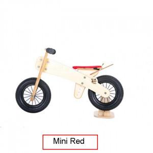 Koka skrejritenis Dip Dap Mini RED no 2 līdz 4 gadiem