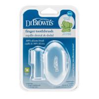 Dr.Browns HG010 Silikona uzpirkstenis zobiņu tīrīšanai