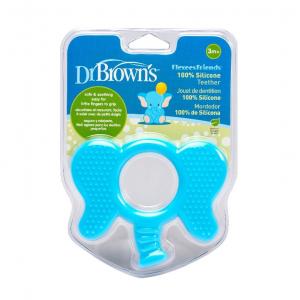 Dr.Browns TE002 Elastīgs silikona zobu masētājs
