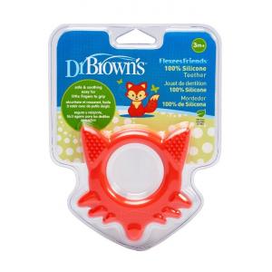 Dr.Browns TE003 Elastīgs silikona zobu masētājs