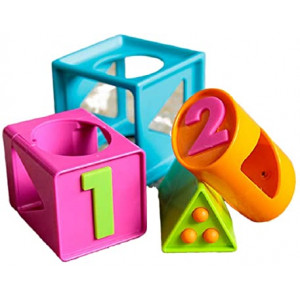 Fat Brain Toys FA179-1 Attīstošais kubs