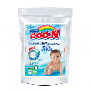 Autiņbiksītes-biksītes Goo.N PM 6-12kg paraugs 3gab