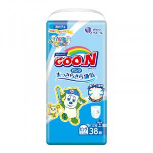 Japānas autiņbiksītes-biksītes Goo.N (Goon) PBL zēniem (12-20 kg) 38gab.