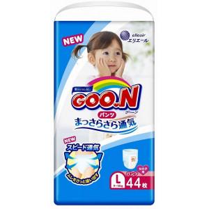 Japānas autiņbiksītes-biksītes Goo.N (Goon) PL meitenēm (9-14 kg) 44gab