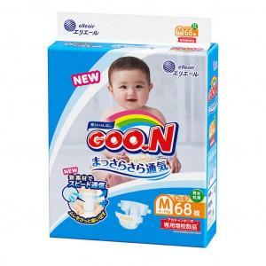 Japānas autiņbiksītes Goo.N (Goon) M – (6-11 kg) 68gab.