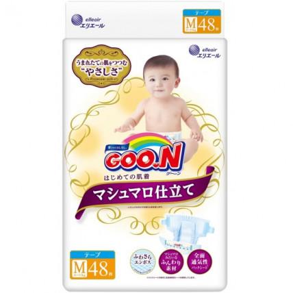 Autiņbiksītes Goo.N Marshmallow M 6-11kg 48gab
