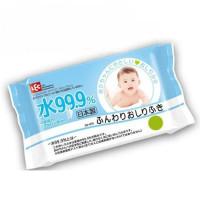 IPLUS 99,9% bērnu mitrās salvetes ar hialuronskābi 80gab