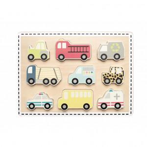JaBaDaBaDo T261 Koka puzle mazuļiem