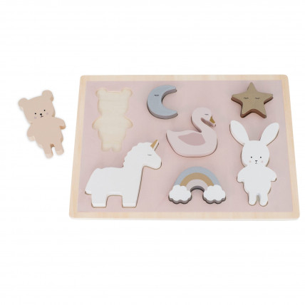 JaBaDaBaDo T270 Koka puzle mazuļiem