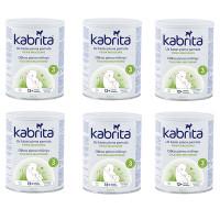 Kabrita 3 piena dzēriens uz kazas piena pamata komfortablai gremošanai bērniem no 12 mēnešu vecumam 6x800g