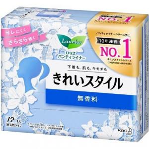 Laurier ikdienas higiēniskās paketes bez spārniņiem jūtīgai ādai 14cm 72gab