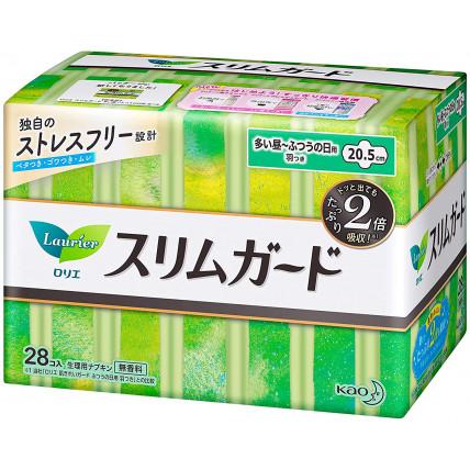 Laurier 4* dienas higiēniskās paketes ar spārniņiem 20,5cm 28gab