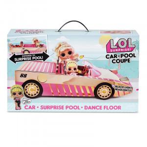 LOL Surprise Car Mašīna - baseins
