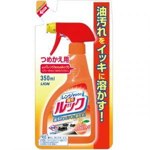 Tīrīšanas līdzeklis virtuves mazgāšanai LION LOOK kitchen,  REFILL 350 ml
