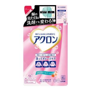 """Šķidrs līdzeklis ar ziedu aromātu delikātu audumu mazgāšanai Lion """"Acron"""", refill 400 ml"""