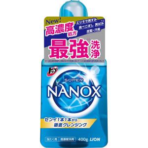 Lion Тop Super Nanox koncentrēts gels veļas mazgāšanai 400g