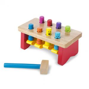 Melissa Doug 14490 Koka rotaļa ar āmuru